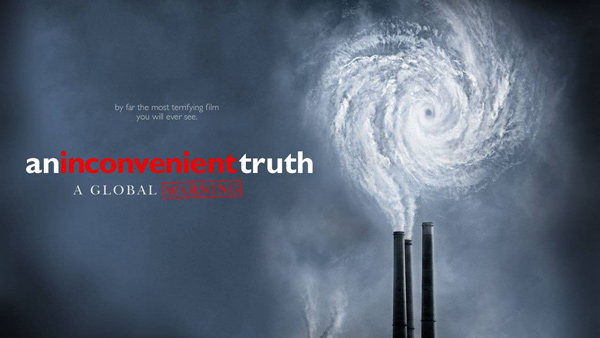 Image of the poster for an inconvenient truth