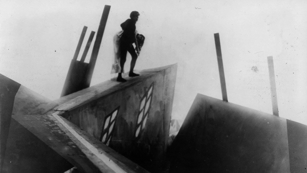 Still from the cabinet of Dr Caligari