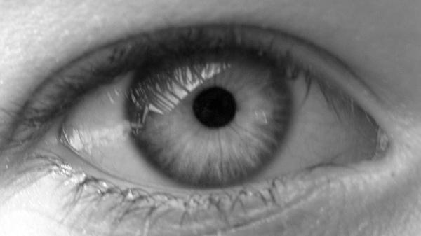 Photo close up of an eye