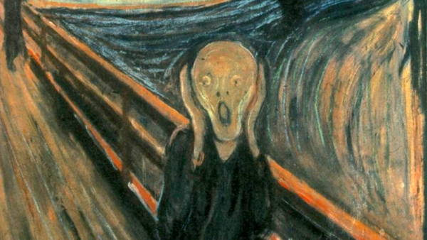 Image of the scream painting